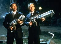 Men In Black (Smith & Jones) - (c) 1997 Columbia TriStar Pictures, photo: Melinda S. Gordon