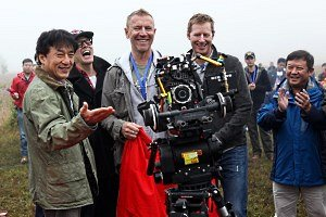Jackie Chan and Renny Harlin